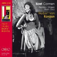 CARMEN/ HERBERT VON KARAJAN [비제: 오페라 <카르멘>| 1967년 잘츠부르크 페스티벌 실황 - 카라얀]