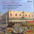 THE COMPLETE SACRED MUSIC/ THE KING`S CONSORT, ROBERT KING