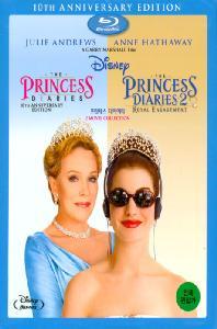 프린세스 다이어리 1+2 컬렉션 [THE PRINCESS DIARIES] [13년 6월 월트디즈니 블루레이 프로모션] (미개봉) 아웃케이스 포함 초회판