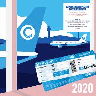 2020 CLEF COMPANY CALENDAR [클래프 컴퍼니 벽걸이 달력+CD]