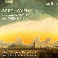 COMPLETE WORKS FOR CELLO & PIANO/ MARC COPPEY, PETER LAUL [베토벤: 첼로 소나타 전곡 - 마르크 코페이]