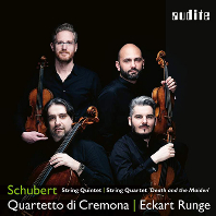 "STRING QUINTET & QUARTET ""DEATH AND MAIDEN""/ ECKART RUNGE, QUARTETTO DI CREMONA [슈베르트: 현악 오중주, 죽음과 소녀 - 크레모나 사중주단]"