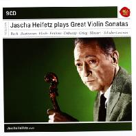JASCHA HEIFETZ - PLAYS GREAT VIOLIN SONATAS [SONY MASTERS]