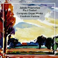 COMPLETE ORGAN WORKS/ FRIEDHELM FLAMME [SACD HYBRID] [프레토리우스, 코르트캄프, 지페르트: 오르간 작품 전집 - 프리드헬름 플람메]