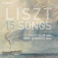15 SONGS/ TIMOTHY FALLON, AMMIEL BUSHAKEVITZ [SACD HYBRID] [리스트: 15개의 가곡 - 티모시 펄론]