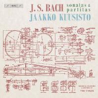 SONATAS & PARTITAS FOR SOLO VIOLIN, BWV1001-1006/ JAAKKO KUUSISTO [SACD HYBRID] [바흐: 무반주 바이올린 소나타와 파르티타 전곡 BWV1001-1006]