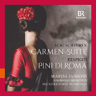 CARMEN SUITE & PINI DI ROMA/ MARISS JANSONS [쉬체드린L 카르멘 모음곡 & 레스피기: 로마의 소나무 - 마리스 얀손스]