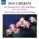SIX SONATAS FOR CELLO AND PIANO/ FEDOR AMOSOV, JEN-RU SUN