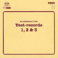 A SELECTION FROM TEST-RECORDS 1, 2 & 3 [SACD HYBRID]