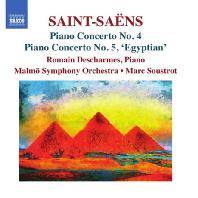 PIANO CONCERTOS NOS.4 & 5 `EGYPTIAN`/ ROMAIN DESCHARMES, MARC SOUSTROT [생상스: 피아노 협주곡 4 & 5번 <이집트> - 마르크 수스트로]
