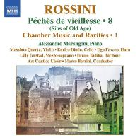 COMPLETE PIANO MUSIC VOL.8 - CHAMBER MUSIC AND RARITIES 1/ ALESSANDRO MARANGONI [로시니: 피아노 작품 8집]