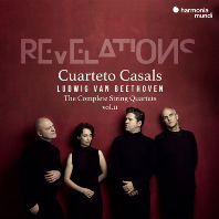 REVELATIONS - THE COMPLETE STRING QUARTETS VOL.2/ CUARTETO CASALS [베토벤: 현악 사중주 2집 - 카잘스 사중주단]