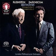 PIANO CONCERTOS NOS.3 & 4/ ARTHUR RUBINSTEIN, DANIEL BARENBOIM [SACD HYBRID] [베토벤: 피아노 협주곡 3, 4번 - 루빈스타인, 바렌보임]