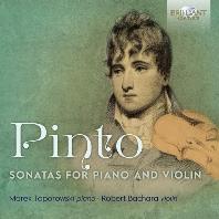 SONATAS FOR PIANO AND VIOLIN/ MAREK TOPOROWSKI, ROBERT BACHARA [핀토: 바이올린 반주가 붙은 세 개의 피아노 소나타 - 마레크 토포로프스키]