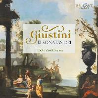 주스티니: 열두 개의 소나타, Op.1 (3CD)