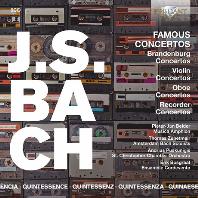 바흐: 유명 협주곡집 (5CD)