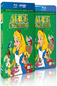 이상한 나라의 앨리스 [BD+DVD] [ALICE IN WONDERLAND]