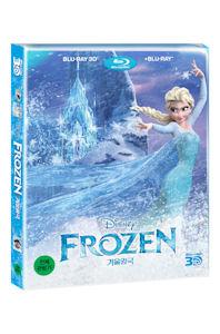 겨울왕국: 2D+3D [스틸북 콤보 한정판] [FROZEN] / [한국어 더빙] 2disc(3D+2D)/아크릴아웃케이스