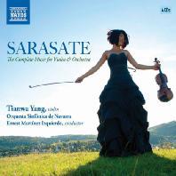 PABLO DE SARASATE - THE COMPLETE MUSIC FOR VIOLIN & ORCHESTRA/ TIANWA YANG  ERNEST MARTINEZ IZQUIERDO [사라사테: 바이올린과 관현악을 위한 음악 전곡]