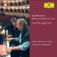 PIANO CONCERTOS NOS.2 & 3/ MARTHA ARGERICH, CLAUDIO ABBADO [베토벤: 피아노 협주곡 2, 3번 - 아르헤리치, 아바도]