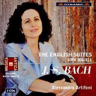 THE ENGLISH SUITES BWV 806-811/ ALESSANDRA ARTIFONI [바흐: 영국 모음곡 - 알레산드라 아르치포니]