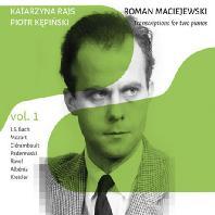 TRANSCRIPTIONS FOR TWO PIANOS VOL.1/ KATARZYNA RAJS, PIOTR KEPINSKI [로만 마치예프스키: 두 대의 피아노를 위한 편곡 작품 1집]