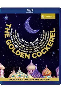 THE GOLDEN COCKEREL/ VALERY GERGIEV [BD+DVD] [림스키 코르사코프: 오페라 <금계> - 게르기예프]