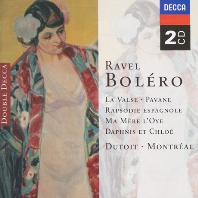 BOLERO, LA VALSE, RAPSODIE ESPAGNOLE/ CHARLES DUTOIT [라벨: 볼레로, 왈츠, 스페인 광시곡 - 뒤투아]