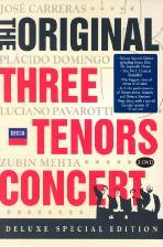 THREE TENORS CONCERT/ ZUBIN MEHTA [오리지널 쓰리테너 로마 콘서트: 디럭스 에디션]