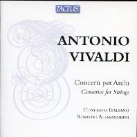 CONCERTOS FOR STRINGS/ CONCERTO ITALIANO, RINALDO ALESSANDRINI [비발디: 현을 위한 여섯 개의 협주곡]