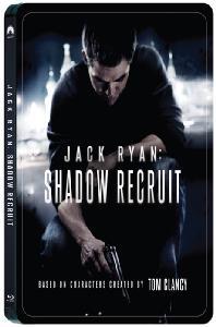 잭 라이언: 코드네임 쉐도우 [스틸북 한정판] [JACK RYAN: SHADOW RECRUIT]