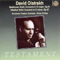 VIOLIN CONCERTOS/ DAVIS OISTRAKH [베토벤 & 시벨라우스: 바이올린 협주곡 - 오이스트라흐]