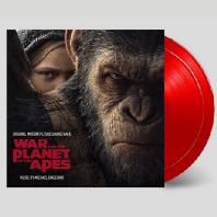 WAR FOR THE PLANET OF THE APES [180G RED LP] [혹성탈출: 종의 전쟁] [한정반]