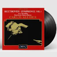 SYMPHONY NO.4/ CARLOS KLEIBER [120G LP] [베토벤: 교향곡 4번 - 클라이버]