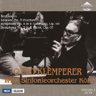 LEONORE OVERTURE, SYMPHONY NO.4 & 5/ OTTO KLEMPERER [베토벤: 교향곡 4, 5번 <운명>, 레오노레 서곡]