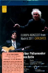EUROPA KONZERT FROM MADRID 2011/ CANIZARES, <!HS>SIMON<!HE> RATTLE [블루레이 전용플레이어 사용]