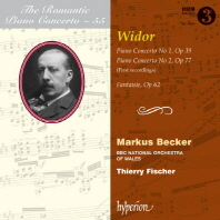 Piano Concertos 1 & 2/ Markus Becker, Thierry Fischer [The Romantic Piano Concerto 55] [비도르: 낭만