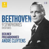 9 SYMPHONIES & OVERTURES/ ANDRE CLUYTENS [베토벤: 교향곡 전곡과 서곡 - 클뤼탕스]