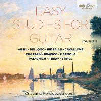 EASY STUDIES FOR GUITAR VOL.3 [기타 독주 모음집: 기타를 위한 쉬운 연습곡 3집 - 크리스티아노 포르퀘두]