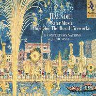 WATER MUSIC, MUSIC FOR THE ROYAL FIREWORKS/ JORDI SAVALL [SACD HYBRID] [헨델: 수상음악, 왕궁의 불꽃놀이 - 조르디 사발]