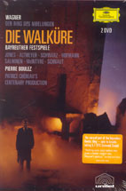 RICHARD WAGNER/ DIE WALKURE/ PIERRE BOULEZ (2DVD)