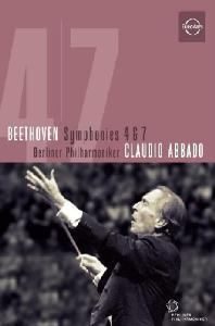 SYMPHONIES NOS.4 & 7/ CLAUDIO ABBADO [베토벤: 교향곡 4 ,7번 - 아바도]