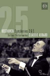 SYMPHONIES NOS.2 & 5/ CLAUDIO ABBADO [베토벤: 교향곡 2, 5번 - 아바도]