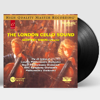 THE LONDON CELLO SOUND/ GEOFFREY SIMON [런던 첼로 사운드] [180G HQ 45 RPM LP]