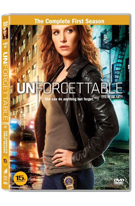 언포게터블 시즌 1 [UNFORGETTABLE: THE COMPLETE FIRST SEASON] DVD