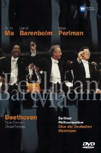 TRIPLE CONCERTO & CHORAL FANTASY/ ITZHAK PERLMAN, YO-YO MA, <!HS>DANIEL<!HE> BARENBOIM [베토벤: 삼중 협주곡 - 펄만, 요요마, 바렌보임]