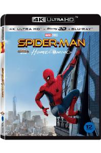 스파이더맨: 홈커밍 3D [4K UHD+BD] [SPIDER-MAN: HOMECOMING]