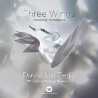 THREE WINGS: PLAINSONG, REIMAGINED/ WINCHESTER COLLEGE QUIRISTERS, DAVID LOL PERRY [데이비드 롤 페리: 세개의 날개]
