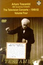 ARTURO TOSCANINI/ THE TELEVISION CONCERTS 1948-1952 VOL.4