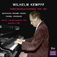 PIANO RECITALS IN FRANCE 1959, 1967 [빌헬름 켐프: 피아노 리사이틀 인 프랑스]